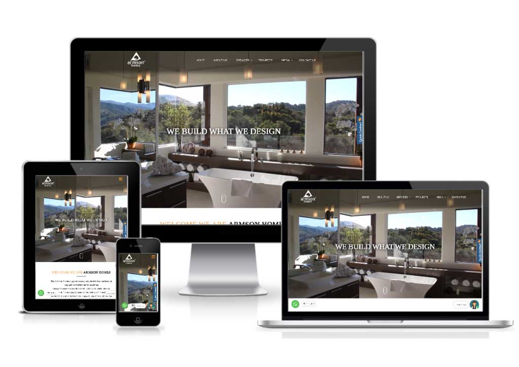 Armson Homes Unveils New Redesigned Website